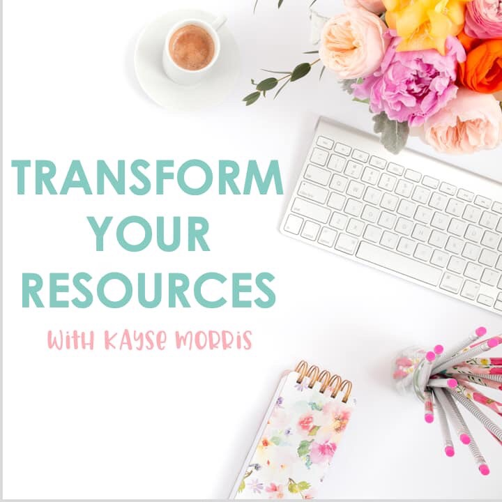 Transform your classroom teaching resources online course.