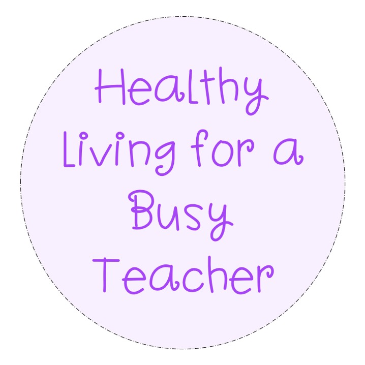 healthy living for a busy teacher